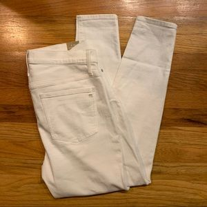 NWT white Madewell jeans